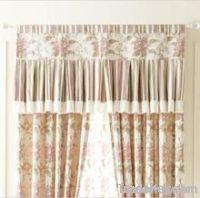 jacquard beautiful curtain