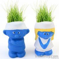 Smurfs Grass Doll, 2013 new model Grass Doll, Home decorative Grass Dol