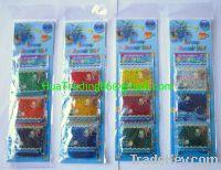 Crystal soil, Hanging card crystal soil, rich symbol crystal soil