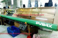9 x PROTTI PV94 X and PV-93 SX flat knitting machines
