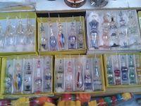 Egyptian perfume glass pyrex bottle - Hand Made