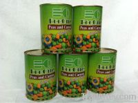 Canned Vegetables/Canned Green Peas&Carrot /Canned food