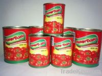 Canned Tomato Paste/Tinned Tomato Paste/Tomato Paste In Can
