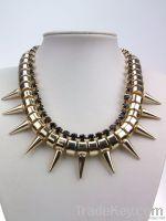 Rivet chocker necklace
