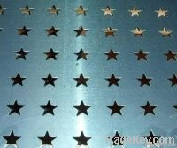 Decoration perforated plate