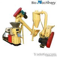 Farm use hammer mill pellet mill simple line