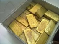 Gold Bar and dust