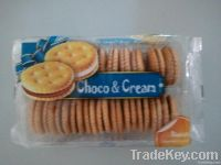 Sand biscuits, Choco cream biscuits