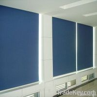 semi-shading and blackout roller blind
