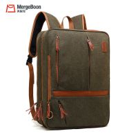 OEM factory China urban college school canvas multi-function backpack
