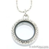 Stainless Steel Floating Locket Jewelry Supplier FCL006