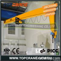 3ton Jib crane of wall mounted