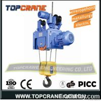 Portable Single speed underlung wire rope hoist 6ton
