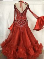 Customized Competition Wear Ballroom Dance Dress