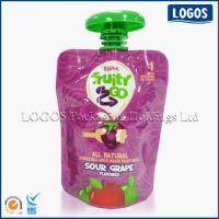 Baby Food Packaging Stand Up Spout Pouch
