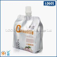 Stand Up Spouted Pouch For Yogurt or Ice Cream Packaging