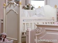 Happy Baby SC1001 Pinewood Europe Style Baby Crib
