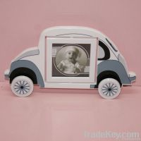 Beetle car shaped picture frame
