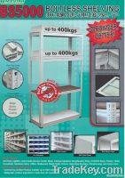 BS5000 Botless Shelving