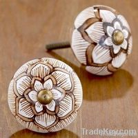 Handpainted Ceramic Knobs