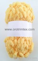 Pompom family Yarn/For Hand knitting/For scarves