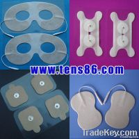 home use facial self-adhesive massage electrode pad for face care