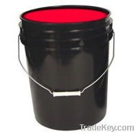 Fluorescent Washable Noen Red Paint
