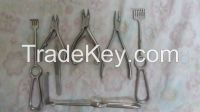 Surgical Instruments - (Adson Forceps, Nail Cutters, re tractors)