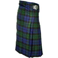 Men Budget Black Watch Tartan Scottish Kilt