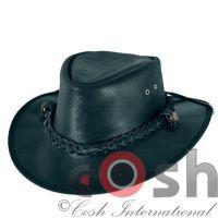 Leather Hat Cowboy Hat West