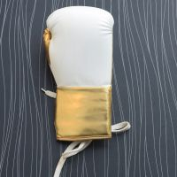 Real Leather White Boxing Gloves Supplier