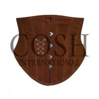 Waist Training Corset In Brown Cotton Supplier