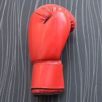 Real Red Leather Boxing Gloves Supplier
