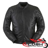 Motorcycle Custom Fashion Leather Riding Jacket