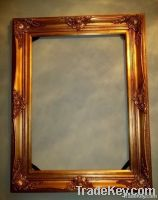 FRAME WOOD HIGH QUALITY BAROQUE GOLD