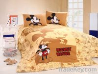 100% cotton bedding set Disney design