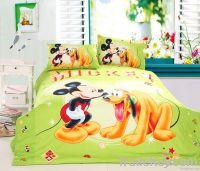 100% cotton bedding set Disney design