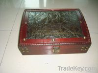 Archaised Jewelry box