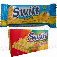 Pineapple Flavoured Cream Wafer Biscuit