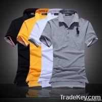 Fashion style collar business cotton gentleman/mens tshirts