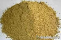 Fish meal, Meat & bone meal, poultry meal.
