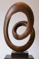 modern abstract fiberglass sculpture art statue