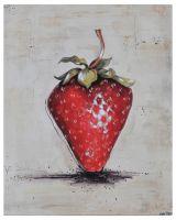 Fruit art oil painting