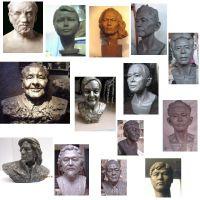 Realism Portrait Sculpture,Portrait Statue