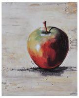 apple art oil painting