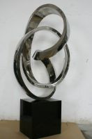 Large Scale Stainless Steel Sculpture