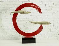 Metal Iron Sculpture