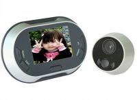 3.5 inches LCD Screen Digital door peephole viewer with photo taking function 150 degrees view angle supported 6 languages