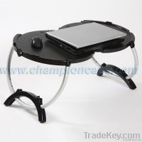 round laptop table for two people