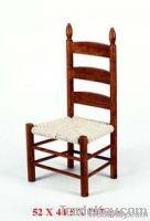 dollhouse mini wooden chair